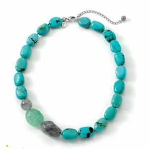 Lia Sophia Blue Grotto Necklace